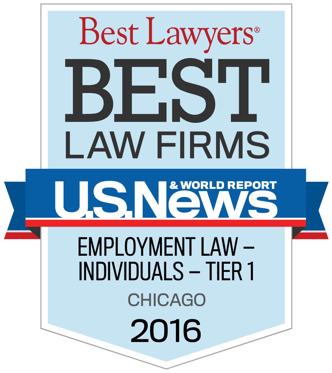 Best Lawyers 2016 badge logo